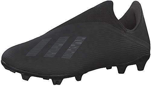 Adidas X 19.3 LL FG, Zapatillas Deportivas Fútbol Hombre, Negro (Core Black/Utility Black/Silver Met.), 40 2/3 EU