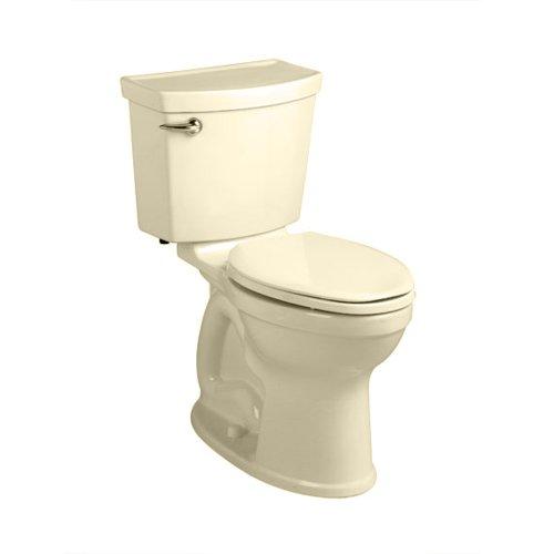 American Standard 241BA104.021 Champion-4 HET Right Height Round Front Toilet (2 Piece), Bone