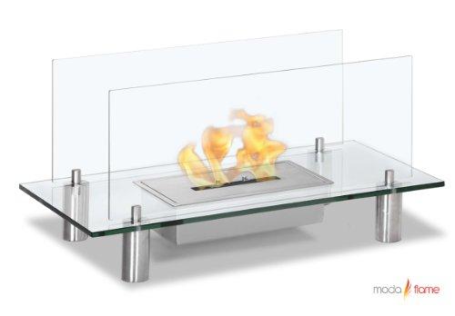 New Regal Flame Baza Free Standing Floor Indoor Outdoor Ethanol Fuel Fireplace
