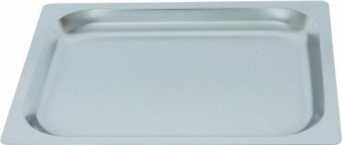 Gastronorm Einschubblech Backblech Blech GN 1/2 mit glattem Rand und 20 mm Tiefe