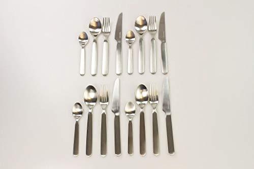 TUPPERWARE Chef Besteck Löffel (4) + Gabel (4) + Messer (4) + kleiner Löffel (4)