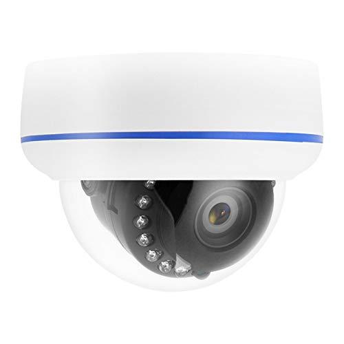CHENGGONG Cámara de Red, cámara IP inalámbrica, cámara Domo de Red de detección de Movimiento para Interiores para Lugares al Aire Libre(European regulations)