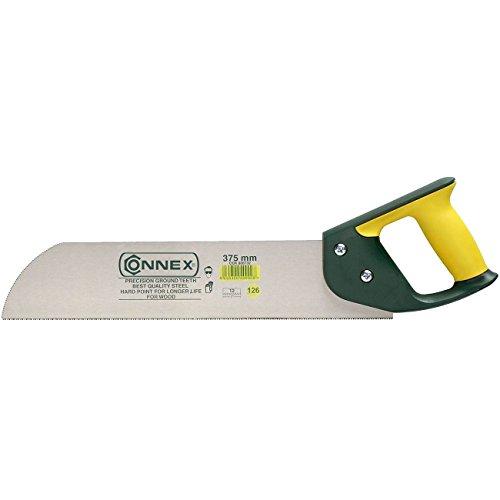 Connex COX808732 Furniersäge 375 mm geschliffene und gehärtete Zähne, 2-Komponenten-Griff