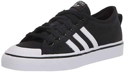 adidas Originals mens Nizza Sneaker, Core Black Cloud White Cloud White, 10 US