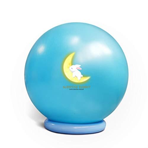 Xian Jian-Gymnastikball Gymnastikball - 55 Extra Dicke Anti-Burst-Yoga-Kugel mit Handpumpe bis 75cm - Gymnastikball for Fitness, Pilates, Arbeit, Gebären Ball, Swiss Ball