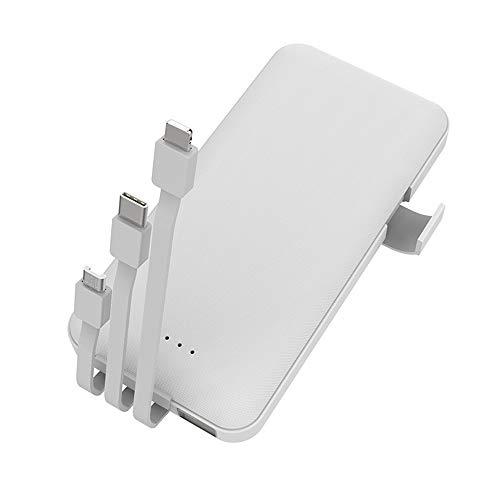 SACYSAC Powerbank, 10000 mAh draagbare oplader, universele externe accu, snellader voor smartphones, tablets enz.