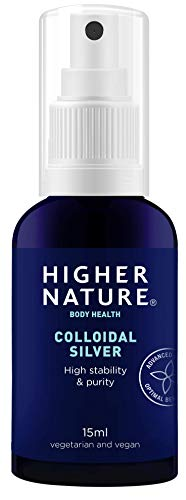 Higher Nature Colloidal Silver Pocket Spray - 15ml