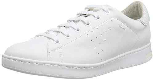 Geox D Jaysen A, Zapatillas para Mujer, Blanco (White), 38 EU