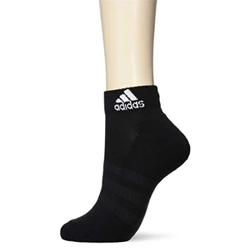 adidas Cush Ank 3pp, Socks Uomo, Black/Black/Black, XS