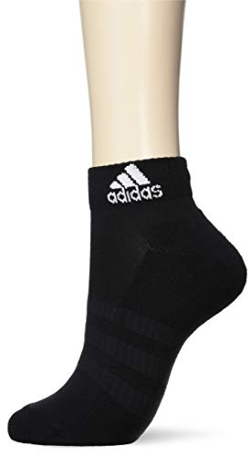 adidas Socken 3 Paar Cushion Ankle, Black/Black/Black, L, DZ9379