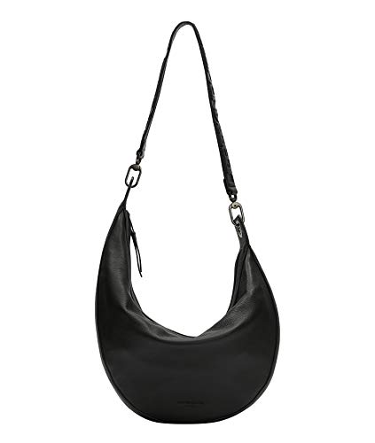 Liebeskind Berlin Hannah Hobo, Medium (41 cm x 38 cm x 9cm), black