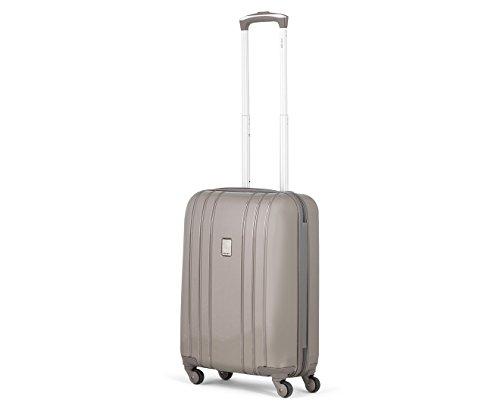 Delsey Aircraft valigia da cabina a 4 ruote 55 cm chestnut