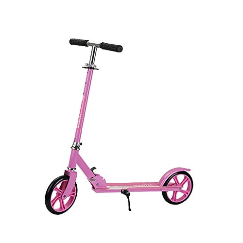 Patinete Freestyle, plegable, con 2 ruedas, altura ajustable, para adultos y niños, alta calidad, disponible en cuatro colores, altura ajustable 75 ~