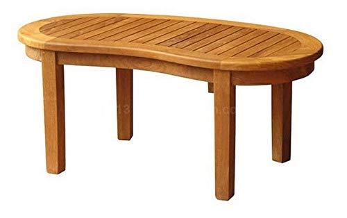 Windsor Grade A Teak Coffee Table Indoor and Outdoor Wooden Garden Table