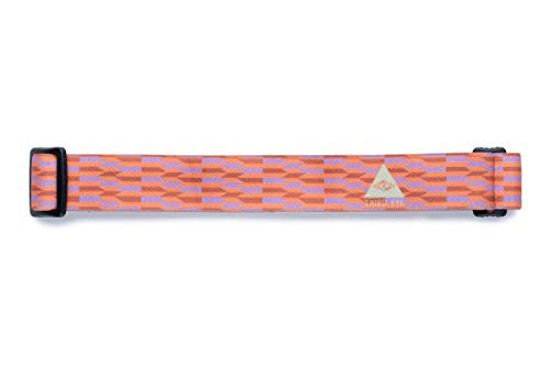 Third Eye Headlamps - Totally Awesome Headbands - Replacement Headlamp Strap - Many Style Options - Artist Designed - Super Soft - Personalize Your Headlamp - Fits Most Headlamps (Metric)
