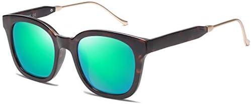 SOJOS Classic Square Polarized Sunglasses Unisex UV400 Mirrored Glasses SJ2050 with Tortoise product image