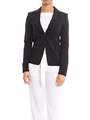 Liu Jo Luxury Fashion Damen IA0193T192922222 Schwarz Viskose Blazer | Frühling Sommer 20