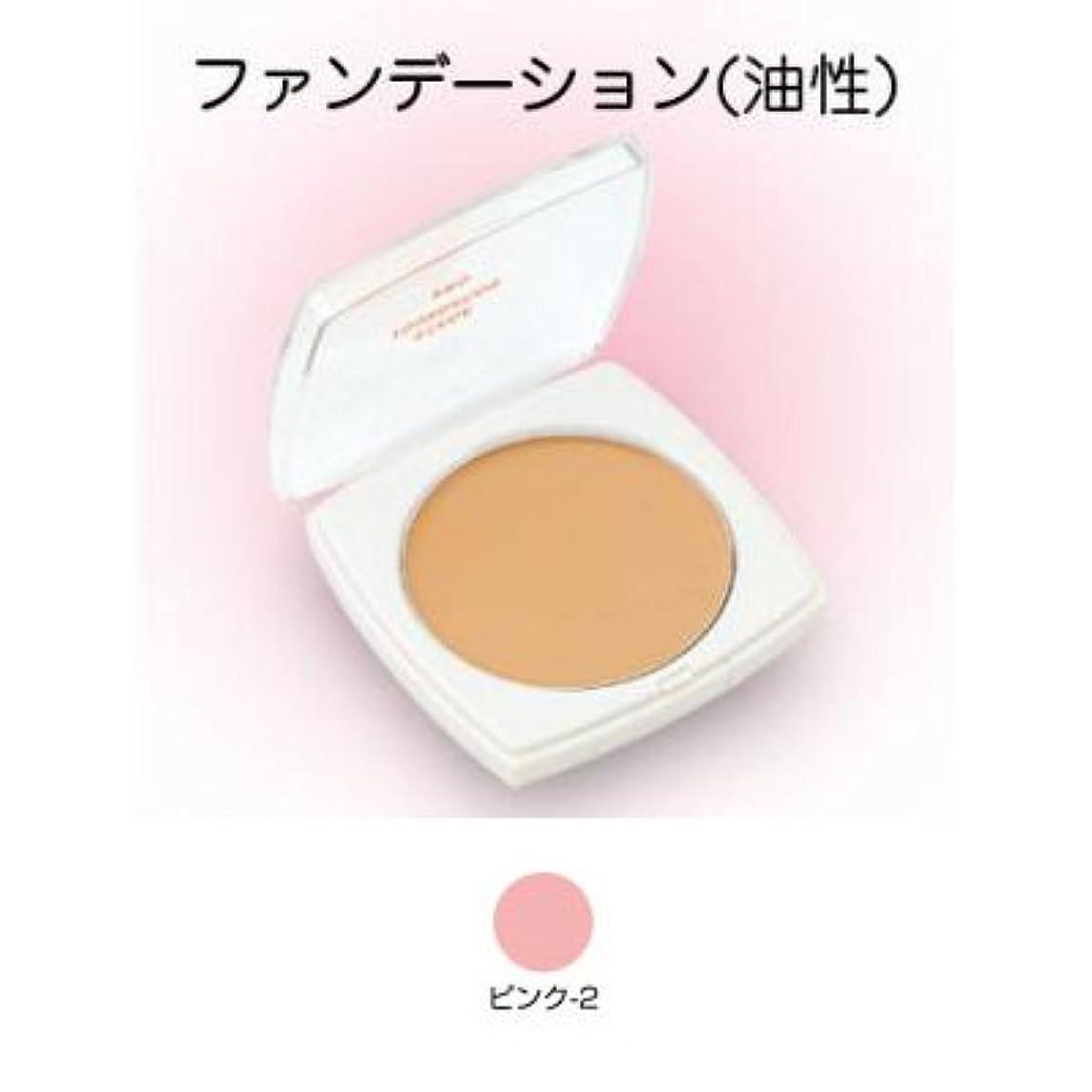 楕円形徐々に称賛ステージファンデーション プロ 13g ピンク-2 【三善】