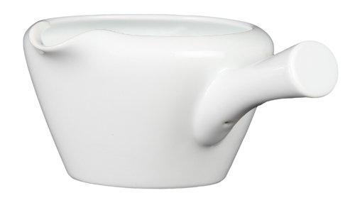 西海陶器 白 横手湯冷まし 61369