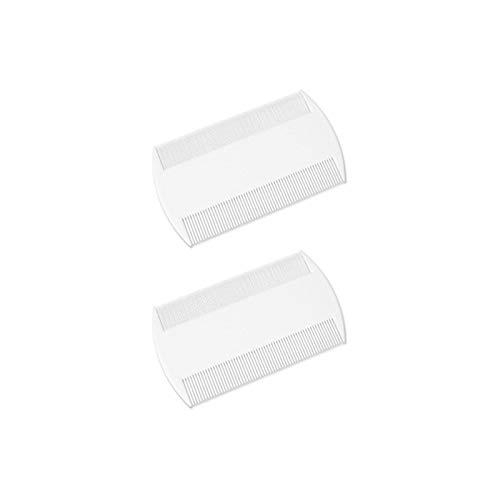 CS Beauty - Confezione da 2 pettini per piedini, 9 x 5,3 cm