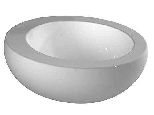 Laufen Waschtisch-Schale Alessi ONE ohne Hahnloch 520x520 LCC weiß, 8189714001091