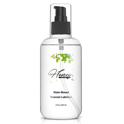 Water Based Personal Lubricant Parabens Free - Clean and Non-Staining, Silky Smooth, Latex...