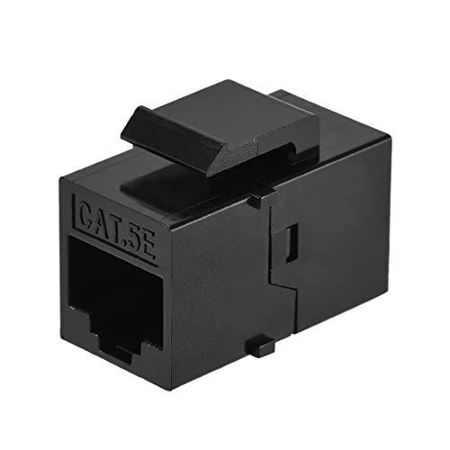 uxcell RJ45 Ethernet Extender Coupler Insert Jack Cat5e Female to...