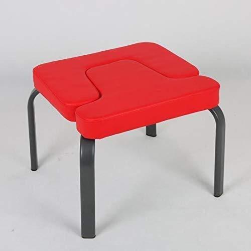 N/Z Living Equipment Hantelbank Verstellbarer Yoga-Kopfständer Prop Upside Down Chair Inversionsbank für Familiengymnastik Holz- und PU-Pads lindern Müdigkeit und Bauen Körperübungskopfständer auf