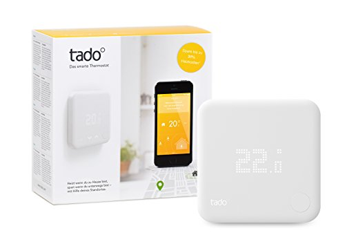 tado° Smartes Thermostat Starter Kit V2 - Intelligente Heizungssteuerung, kompatibel mit Amazon Alexa, Google Assistant, IFTTT