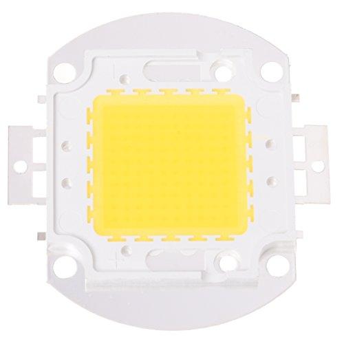 SODIAL (R) de la viruta 100W de luz LED Lampara Bombilla Caliente 7500LM alta potencia blanco DIY