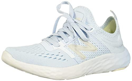 New Balance womens Spt V2 Running Shoe, Uv Glo/Star Glo/Silver, 7.5 US