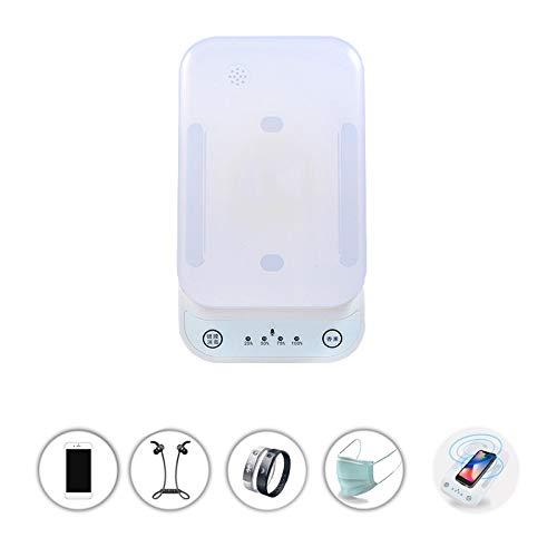 LK-HOME GSM-sterilisator, draagbare uv-stereo-box, bluetooth-luidspreker, draadloos opladen, one-touch-aromatherapie voor mobiele telefoons, ondergoed, make-upkwast