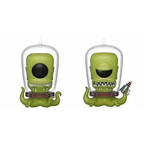 Funko Pop Television : The Simpsons - Kang and Kodos (SDCC 2019 Exclusive) 3.75inch Vinyl Gift for Television Fans SuperCollection
