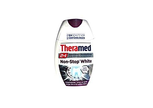 Theramed Non-Stop White Antibakterieller-schutz 2 in1 Zahncreme Mundspülung