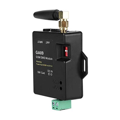DAUERHAFT Sistema de Alarma gsm Sistema de Alarma gsm inalámbrico de 8 Canales Tipo de Alarma SMS para Seguridad de oficinas con Sistema de Alarma gsm Inteligente