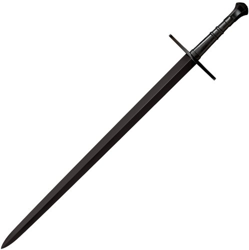 Cold Steel MAA Hand-and -a-Half Sword , Black