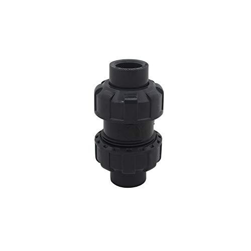 Clapet anti retour a boule 20 25 32 40 50 63mm clapet piscine clapet antiretour anti refoulement pvc vanne soupape anti retour (Diamètre intérieur 32mm)