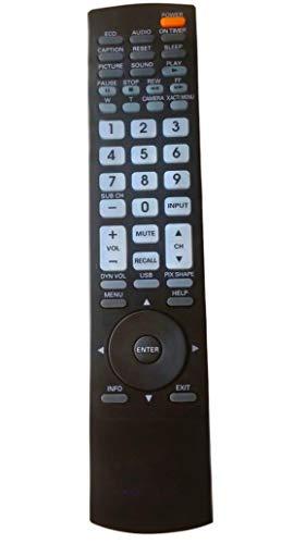 LR General Remote Control Fit for GXDB DP42849 DP46849 DP32649 DP32746 DP52449 DP50749 GXEC GXHA DP55D33 DS27224 DS27225 DS27350 DP32648 for Sanyo LCD HDTV TV