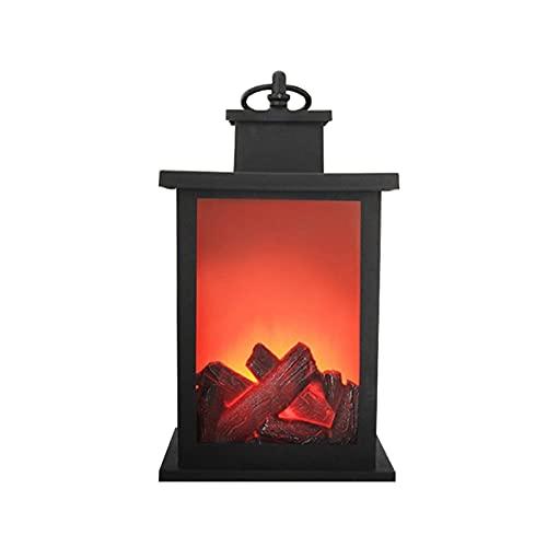 Sonline LáMparas de Linterna de Llama LED Chimenea Simulada LáMparas de Llama LED Luz de Efecto de Llama BateríA AA Patio DecoracióN de Sala de Estar