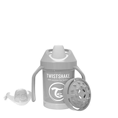 Twistshake 78272 - Vaso con boquilla, color pastel gris