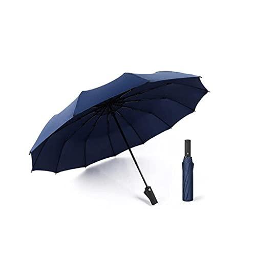 Hanpiyigys Paraguas, 1 unids Abra la Paraguas de Viaje de la Lluvia Abierta automática, Abierta automática para Viajes Parasol portátil Ligero al Aire Libre, Sun & Rainumbrellas, (Negro y más) 43'x26