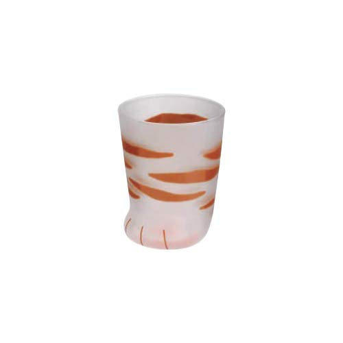 Tokyo Matcha Selection - Cat Glass Cup - Coco - 3 Design [Standard Ship by Sal: NO Tracking Number & Insurance] (Tiger)
