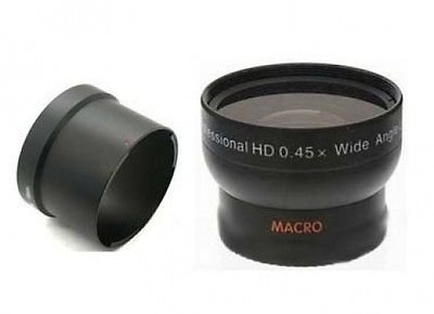 Wide Lens for Canon Powershot G10, Canon Powershot G11, Canon Powershot G12, Canon Powershot G-11, Canon Powershot G-12