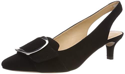 Unisa Jalis_KS, Zapatos tacón Punta Abierta Mujer
