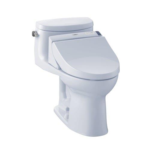 TOTO MW6342044CEFG#01 WASHLET+ Supreme II One-Piece Elongated 1.28 GPF Toilet and WASHLET...