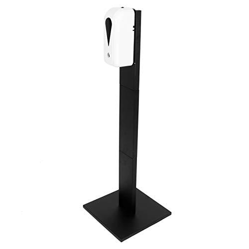 OIHODFHB Handtvåldispenser golvstativ intelligent induktion kontaktfri tvålbehållare svart 9004H+109 spraymodell 1500 ml
