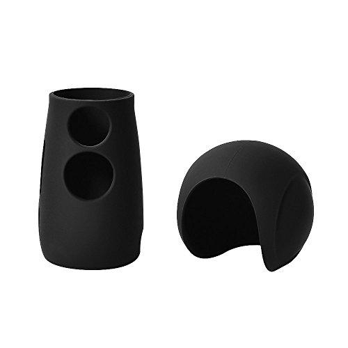 Andoer Funda de Silicona Protector del Casquillo de la Piel para Samsung Gear 360 2017 Edition Cámara Panorámica