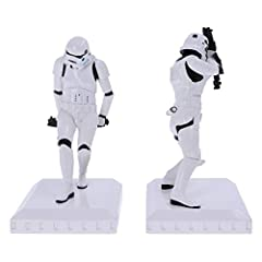 Nemesis Now Officially Licensed The Original Stormtrooper Bookend Figurines, White, 18.5cm #2