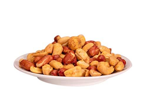 KERNenergie V.I.P. Curry Nuss-Mischung, geröstet – edler Nuss-Mix, Cashew-Kerne, Erdnüsse und...