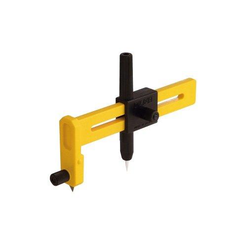 【 OLFA コンパスカッター 】 クラフトツール MK57B/ 薄物を円形にカットできる便利なカッターです。 模型 工作 プラモデル用工具